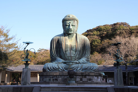 The Great Buddha in Kotoku-in temple