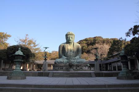 Der große Buddha in Kotoku-in Tempel Standard-Bild - 31134471