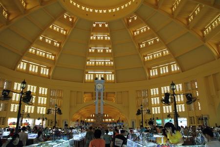 central market: Central market in Phnom Penh, Cambodia