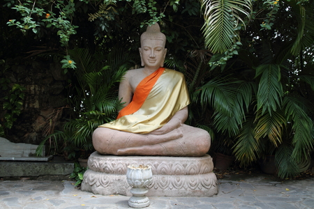 phnom penh: Silver Pagoda in Phnom Penh, Cambodia