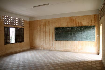 political prisoner: Tuol Sleng Genocide Museum in Phnom Penh, Cambodia