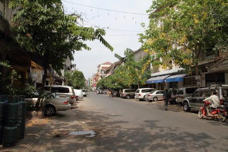 phnom penh: Townscape of Phnom Penh, Cambodia