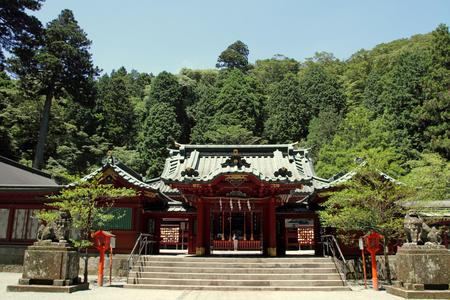 日本の箱根にある箱根神社 写真素材 - 31318186