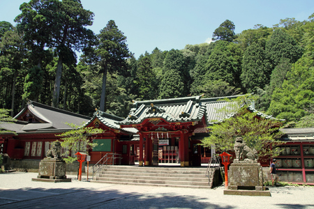Hakone shrine in Hakone, Japan