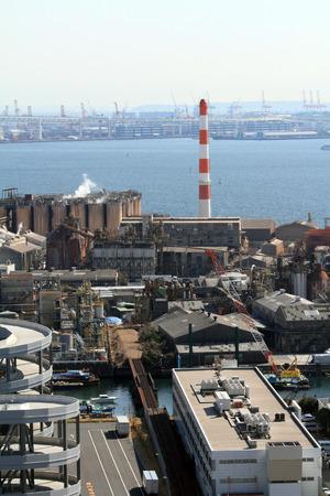 industrial district: Keihin industrial district in Japan