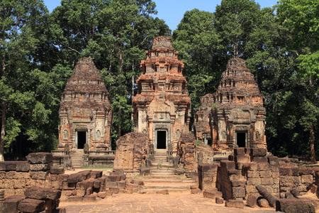 the world cultural heritage: Preah Ko in Angkor