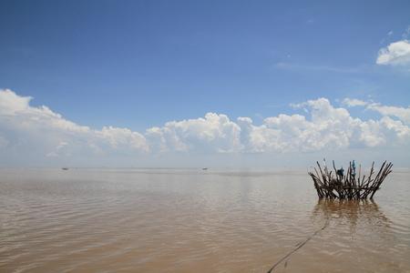 sap: Tonle Sap lake in Cambodia