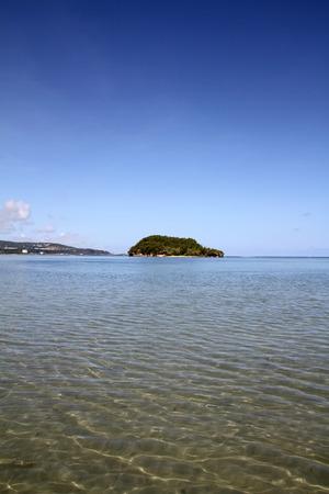 guam: Alpat island in Guam Stock Photo