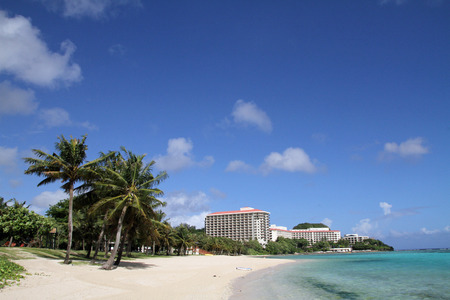 Tumon Beach in Guam