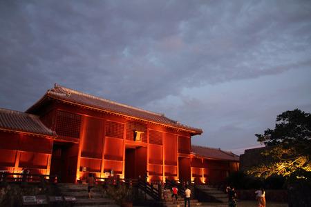 Houshinmon at Shuri castle