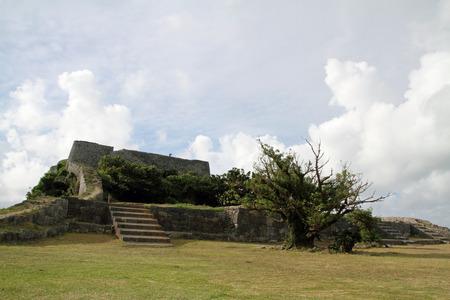 沖縄の勝連城