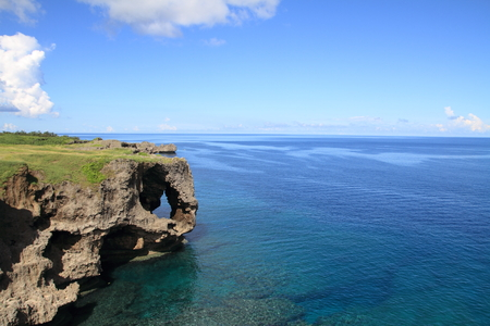沖縄万座毛