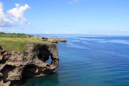 沖縄万座毛 写真素材 - 31990784