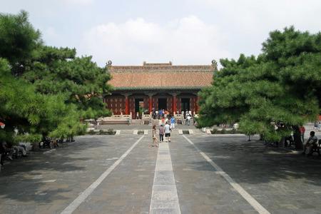 people's cultural palace: Shenyang gugong in China