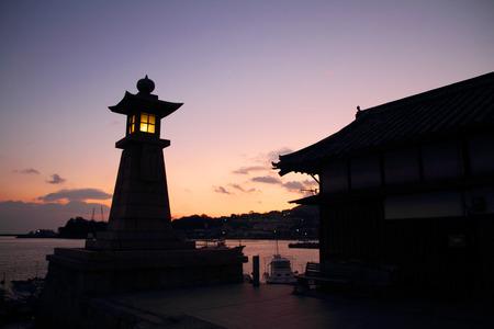 鞆の浦、日本にある石灯籠