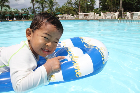inner wear: Swiming Japanese boy (2 years old)