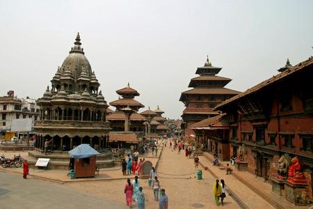 カトマンズ、ネパール ・ パタン