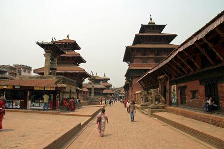 kathmandu: Patan in Kathmandu, Nepal Editorial