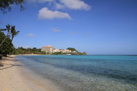 guam: Tumon beach in Guam