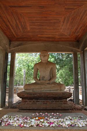 buddha sri lanka: Samadhi Buddha in Anuradhapura, Sri Lanka