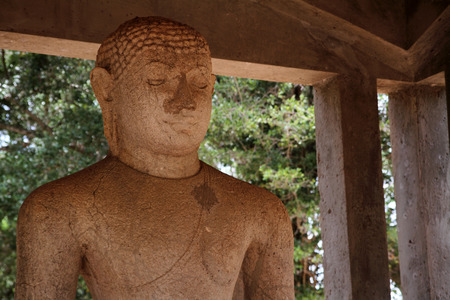 samadhi: Samadhi Buddha in Anuradhapura, Sri Lanka