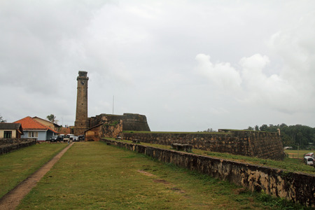 galle: Clock tower in Galle, Sri Lanka