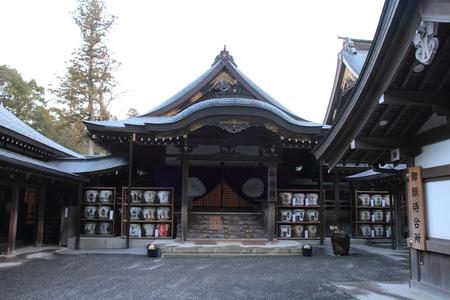 Ise Shrine in Mie, Japan 報道画像