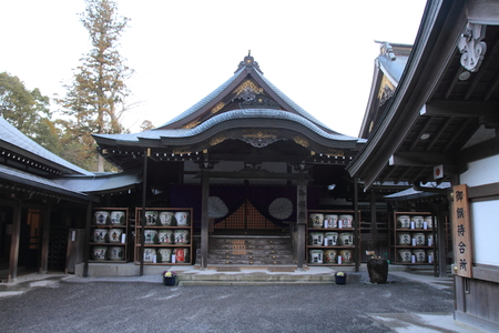 Ise Shrine in Mie, Japan 新闻类图片