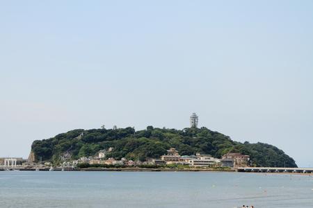 Enoshima Island in Shonan, Japan