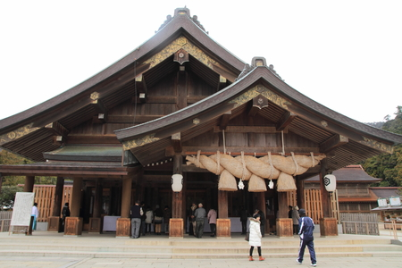 Prayer hall of Izumo Taisha Shrine 報道画像