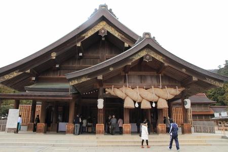 Prayer hall of Izumo Taisha Shrine Éditoriale