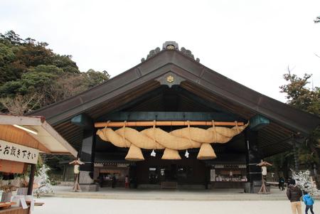 Kaguraden of Izumo Taisha Shrine 報道画像