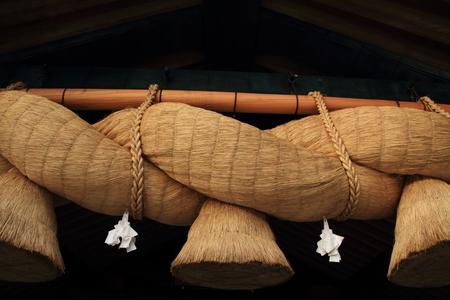 Kaguraden of Izumo Taisha Shrine 写真素材