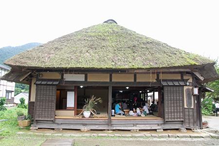 fukushima: Ouchi juku (post town) in Fukushima, Japan