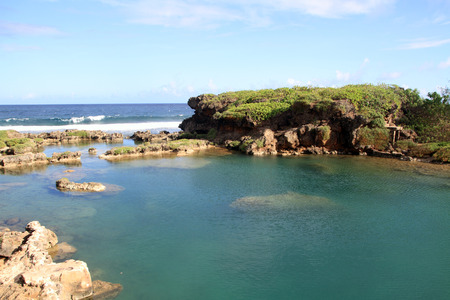 Inarajan natural pool in Guam