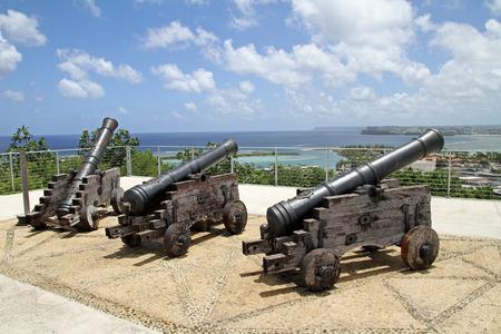 グアムでアプガン砦