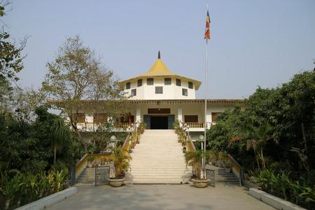 gautama: India temple in Lumbini, Nepal