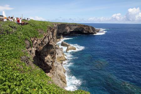 Banzai cliff in Saipan