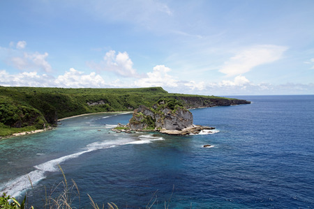 Bird island in Saipan 免版税图像