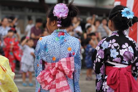 Japanese summer festival Stock Photo