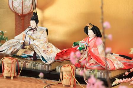 Hina doll (Japanese traditional doll) photo