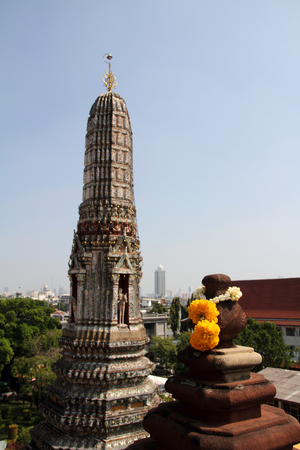 wat arun: Wat Arun in Bangkok, Thailand Stock Photo