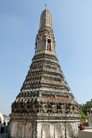 wat arun: Wat Arun in Bangkok, Thailand Stock Photo