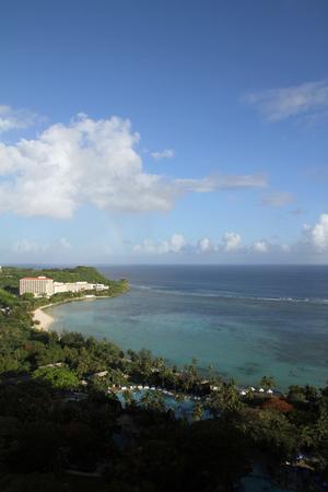 guam: Tumon beach in Guam, Micronesia