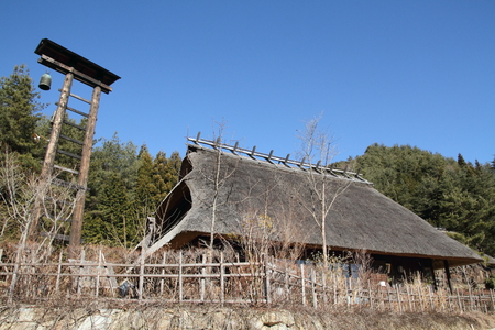 saiko: Japanese thatched roof house in Saiko