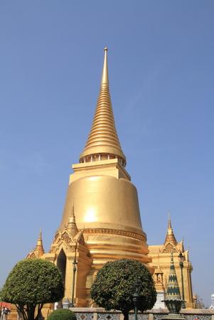 phra si rattana chedi: Wat Phra Kaew in Bangkok