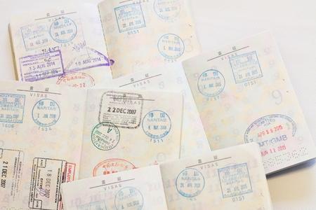 日本切れて上多くのビザ