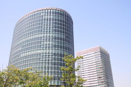 high rise buildings: high rise buildings in Yokohama, Japan