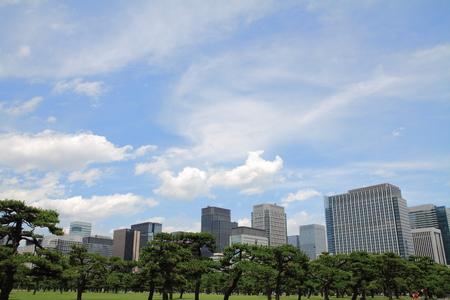 high rise buildings: high rise buildings in Murunouchi, Tokyo, Japan Editorial