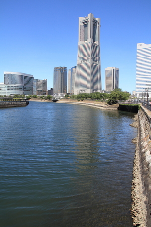 kanagawa: Yokohama Minatomirai 21 in Kanagawa, Japan